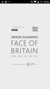 Face of Britain App - Intro
