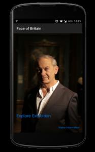 Face of Britain - iBeacon App