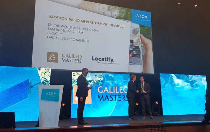 Locatify wins Galileo Masters 5G IoT challenge with AR plans