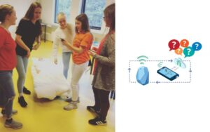 indoor game with ibeacons