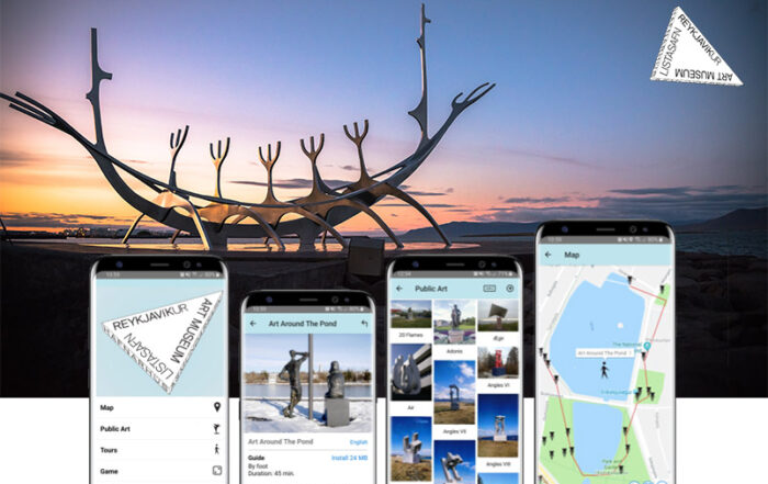 Reykjavik Art Walk app released! Your Guide to Art in Reykjavik