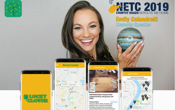 Lucky Clover app goes live just in time for #NETC2019 Conference (USA)