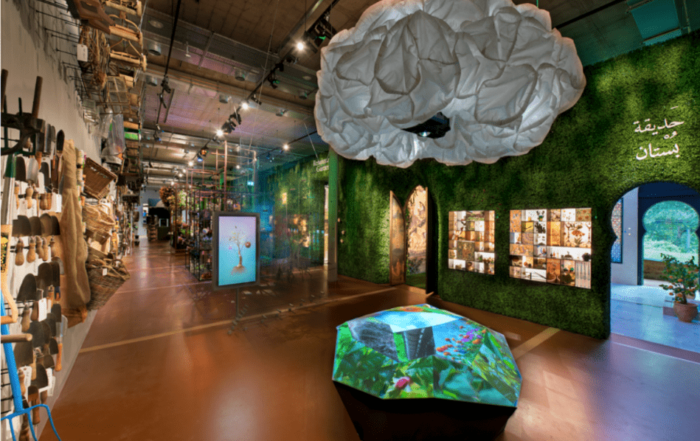 """The Story of Gardening"" Immersive Experience Centre opens at The Newt in Somerset"