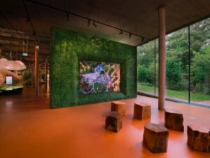 The Story of Gardening at the Newt (UWB indoor positioning by Locatify) - 2