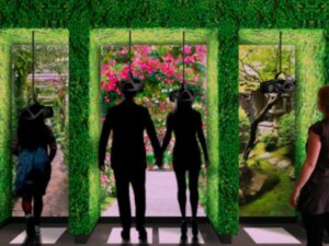 The Story of Gardening at the Newt (UWB indoor positioning by Locatify) - 3