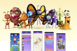 Wowlandia app release by locatify
