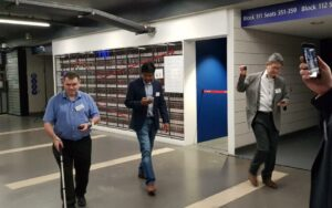 UWB Enables Indoor Turn-by-Turn Navigation for Visually Impaired Persons in Stadium - 1