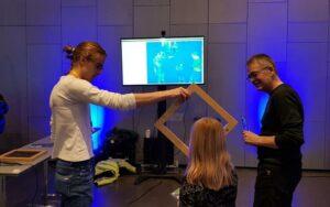 iBeacon treasure hunt game at UTMessan 2020-1